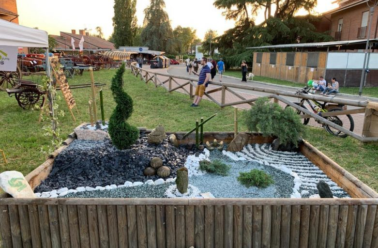 Il Giardino Zen alla Fiera Agricola del Santerno