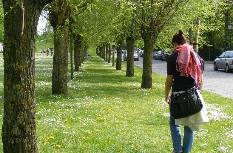 Pratiche per il benessere in giardino, meditare camminando