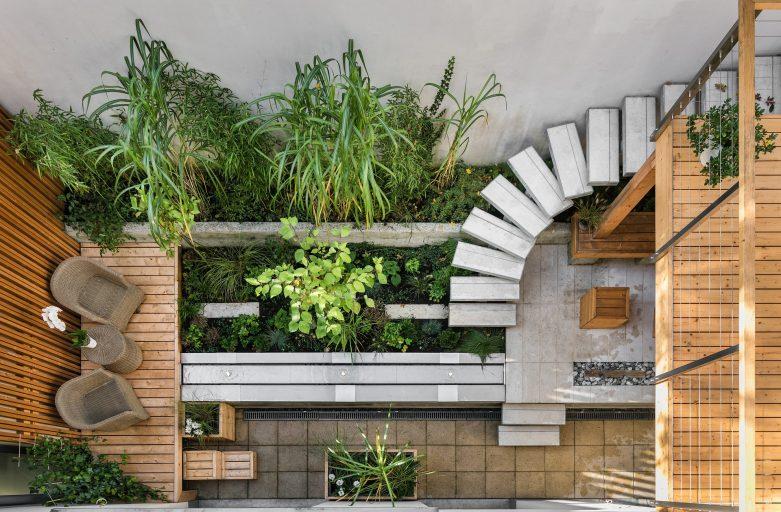 Terrazzo, spazio verde